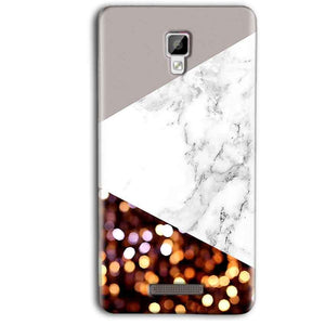 Gionee P7 Max Mobile Covers Cases MARBEL GLITTER - Lowest Price - Paybydaddy.com