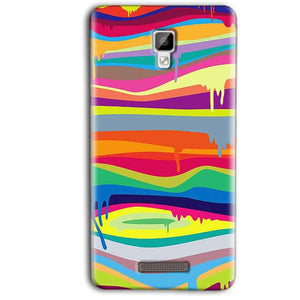 Gionee P7 Max Mobile Covers Cases Melted colours - Lowest Price - Paybydaddy.com