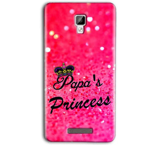 Gionee P7 Max Mobile Covers Cases PAPA PRINCESS - Lowest Price - Paybydaddy.com