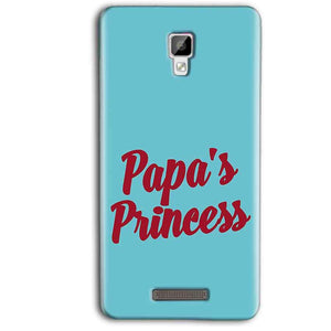 Gionee P7 Max Mobile Covers Cases Papas Princess - Lowest Price - Paybydaddy.com