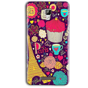 Gionee P7 Max Mobile Covers Cases Paris Sweet love - Lowest Price - Paybydaddy.com