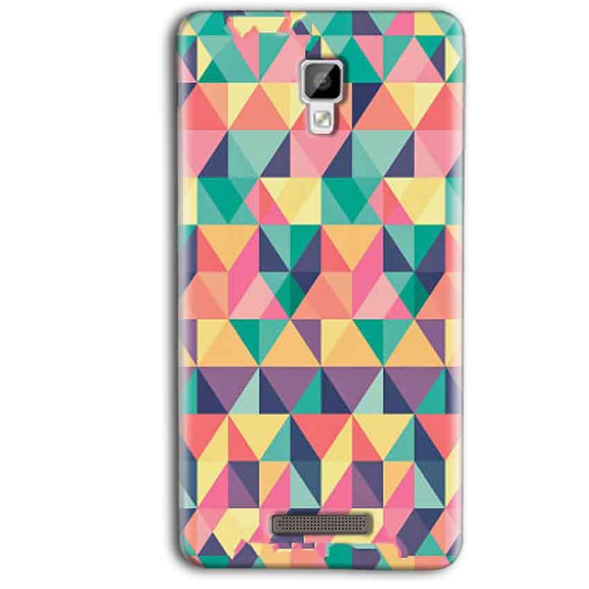 Gionee P7 Max Mobile Covers Cases Prisma coloured design - Lowest Price - Paybydaddy.com