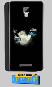 Gionee P7 Max Mobile Covers Cases Shiva Aghori Smoking - Lowest Price - Paybydaddy.com