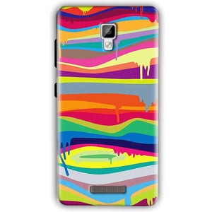 Gionee P7 Mobile Covers Cases Melted colours - Lowest Price - Paybydaddy.com