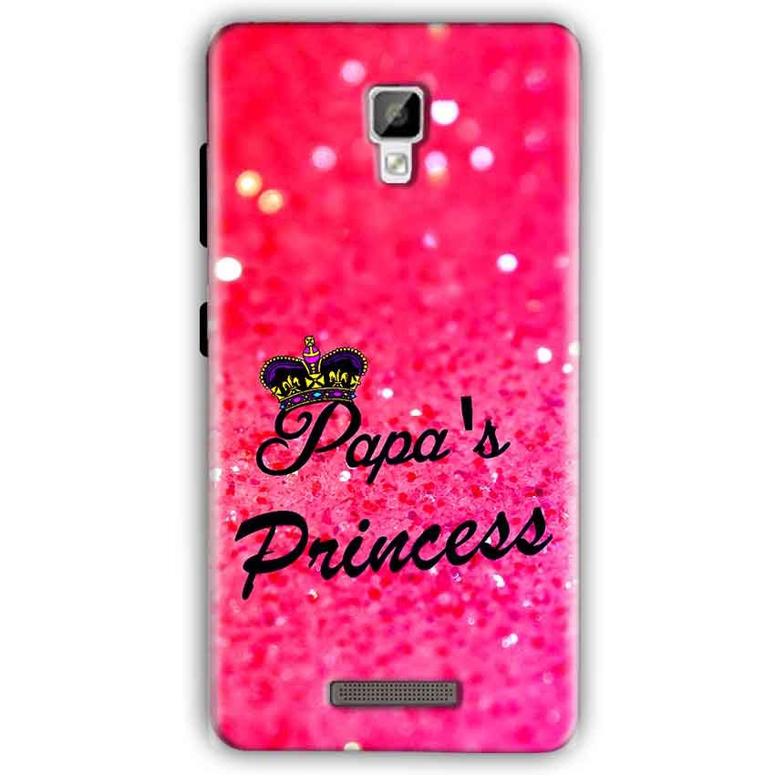 Gionee P7 Mobile Covers Cases PAPA PRINCESS - Lowest Price - Paybydaddy.com