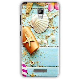 Gionee P7 Mobile Covers Cases Pearl Star Fish - Lowest Price - Paybydaddy.com