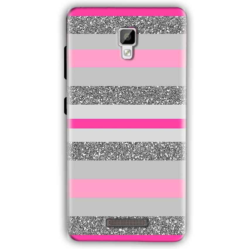 Gionee P7 Mobile Covers Cases Pink colour pattern - Lowest Price - Paybydaddy.com