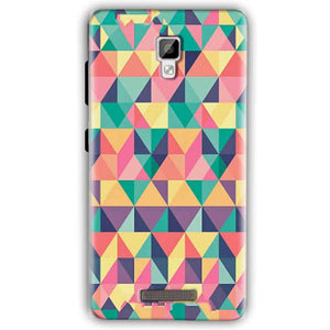 Gionee P7 Mobile Covers Cases Prisma coloured design - Lowest Price - Paybydaddy.com