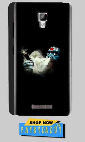 Gionee P7 Mobile Covers Cases Shiva Aghori Smoking - Lowest Price - Paybydaddy.com