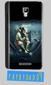 Gionee P7 Mobile Covers Cases Shiva Smoking - Lowest Price - Paybydaddy.com