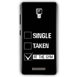 Gionee P7 Mobile Covers Cases Single Taken At The Gym - Lowest Price - Paybydaddy.com