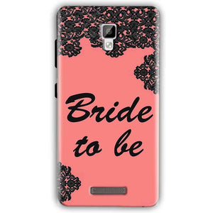 Gionee P7 Mobile Covers Cases Mobile Covers Cases bride to be with ring Black Pink - Lowest Price - Paybydaddy.com