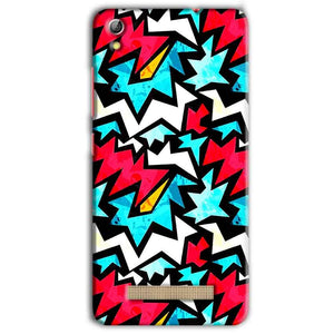 Gionee Pioneer P5L Mobile Covers Cases Colored Design Pattern - Lowest Price - Paybydaddy.com