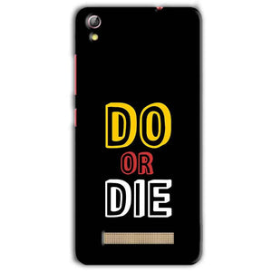 Gionee Pioneer P5L Mobile Covers Cases DO OR DIE - Lowest Price - Paybydaddy.com