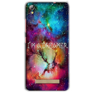 Gionee Pioneer P5L Mobile Covers Cases I am Dreamer - Lowest Price - Paybydaddy.com