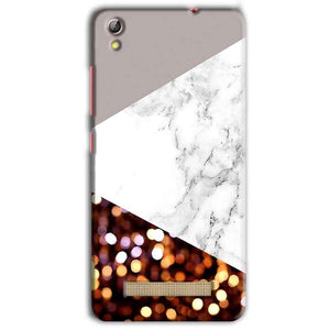 Gionee Pioneer P5L Mobile Covers Cases MARBEL GLITTER - Lowest Price - Paybydaddy.com