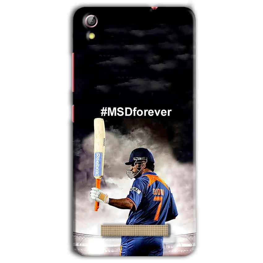 Gionee Pioneer P5L Mobile Covers Cases MS dhoni Forever - Lowest Price - Paybydaddy.com