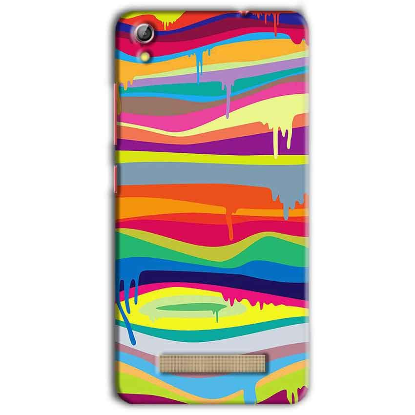 Gionee Pioneer P5L Mobile Covers Cases Melted colours - Lowest Price - Paybydaddy.com
