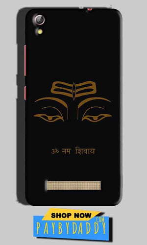 Gionee Pioneer P5L Mobile Covers Cases Om Namaha Gold Black - Lowest Price - Paybydaddy.com