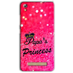 Gionee Pioneer P5L Mobile Covers Cases PAPA PRINCESS - Lowest Price - Paybydaddy.com