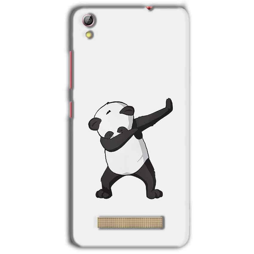 Gionee Pioneer P5L Mobile Covers Cases Panda Dab - Lowest Price - Paybydaddy.com