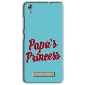 Gionee Pioneer P5L Mobile Covers Cases Papas Princess - Lowest Price - Paybydaddy.com