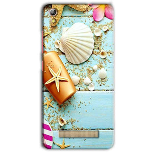 Gionee Pioneer P5L Mobile Covers Cases Pearl Star Fish - Lowest Price - Paybydaddy.com