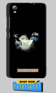 Gionee Pioneer P5L Mobile Covers Cases Shiva Aghori Smoking - Lowest Price - Paybydaddy.com