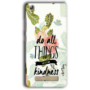 Gionee Pioneer P5W Mobile Covers Cases Do all things with kindness - Lowest Price - Paybydaddy.com