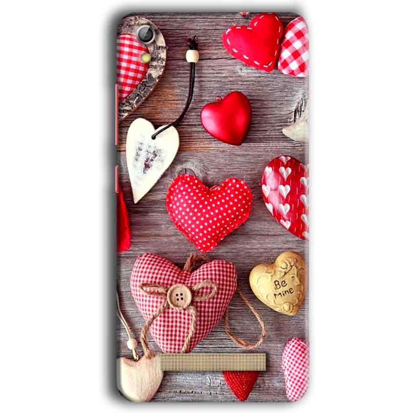 Gionee Pioneer P5W Mobile Covers Cases Hearts- Lowest Price - Paybydaddy.com