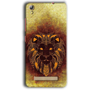 Gionee Pioneer P5W Mobile Covers Cases Lion face art - Lowest Price - Paybydaddy.com