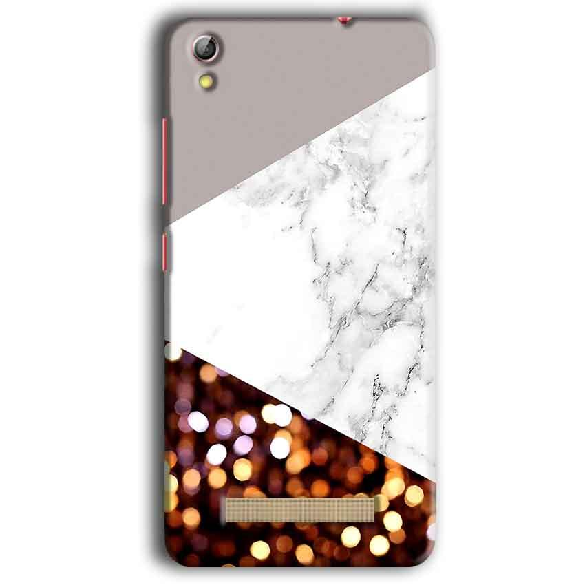 Gionee Pioneer P5W Mobile Covers Cases MARBEL GLITTER - Lowest Price - Paybydaddy.com