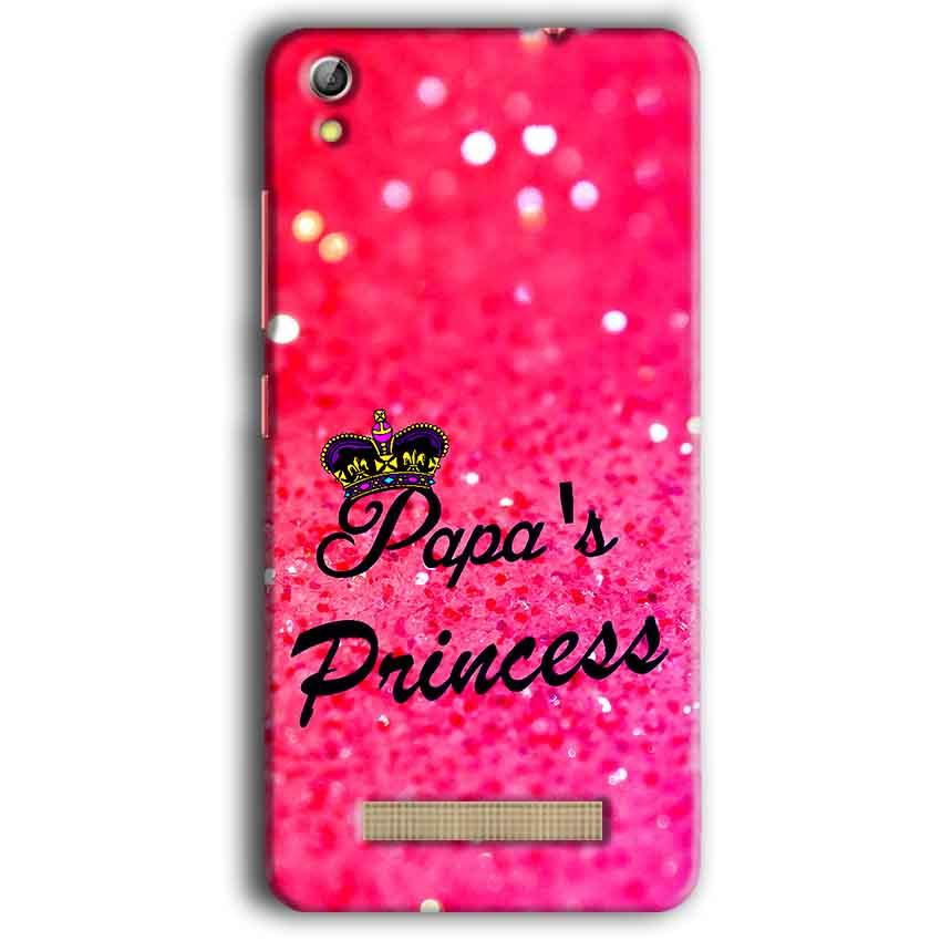 Gionee Pioneer P5W Mobile Covers Cases PAPA PRINCESS - Lowest Price - Paybydaddy.com