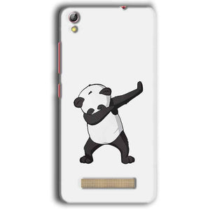 Gionee Pioneer P5W Mobile Covers Cases Panda Dab - Lowest Price - Paybydaddy.com