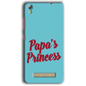 Gionee Pioneer P5W Mobile Covers Cases Papas Princess - Lowest Price - Paybydaddy.com