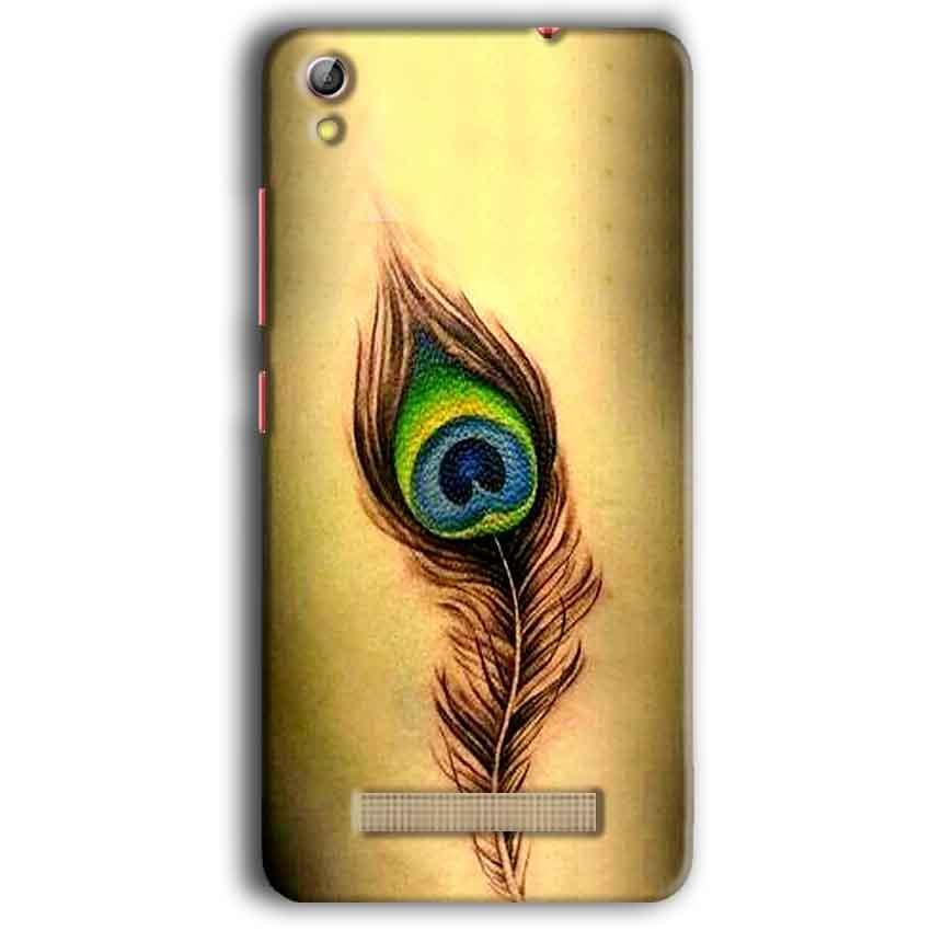 Gionee Pioneer P5W Mobile Covers Cases Peacock coloured art - Lowest Price - Paybydaddy.com