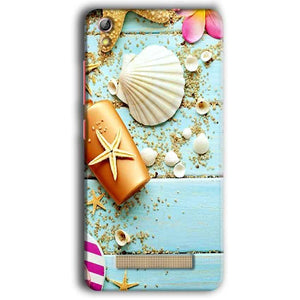 Gionee Pioneer P5W Mobile Covers Cases Pearl Star Fish - Lowest Price - Paybydaddy.com