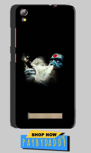 Gionee Pioneer P5W Mobile Covers Cases Shiva Aghori Smoking - Lowest Price - Paybydaddy.com