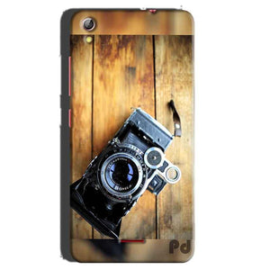 Gionee Pioneer P5 mini Mobile Covers Cases Camera With Wood - Lowest Price - Paybydaddy.com