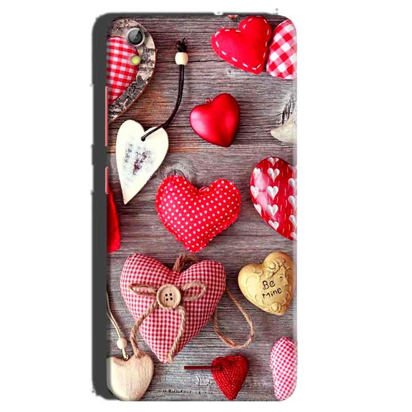 Gionee Pioneer P5 mini Mobile Covers Cases Hearts- Lowest Price - Paybydaddy.com