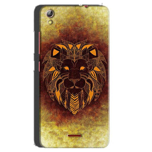 Gionee Pioneer P5 mini Mobile Covers Cases Lion face art - Lowest Price - Paybydaddy.com