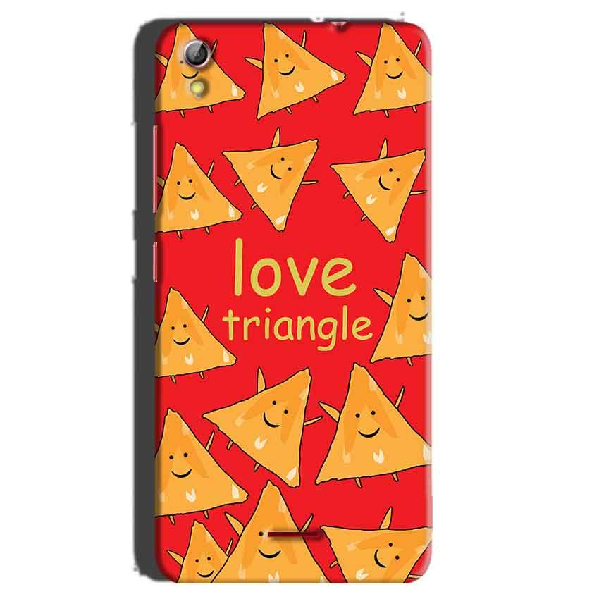 Gionee Pioneer P5 mini Mobile Covers Cases Love Triangle - Lowest Price - Paybydaddy.com