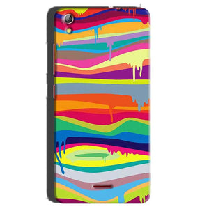 Gionee Pioneer P5 mini Mobile Covers Cases Melted colours - Lowest Price - Paybydaddy.com