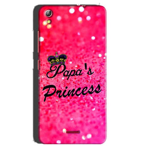 Gionee Pioneer P5 mini Mobile Covers Cases PAPA PRINCESS - Lowest Price - Paybydaddy.com
