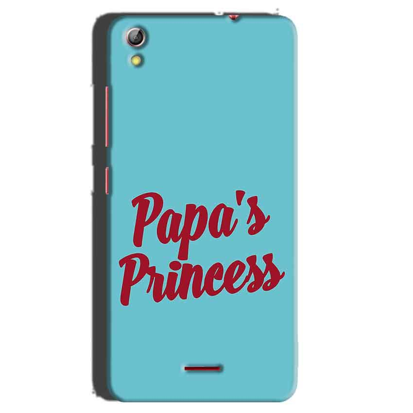 Gionee Pioneer P5 mini Mobile Covers Cases Papas Princess - Lowest Price - Paybydaddy.com