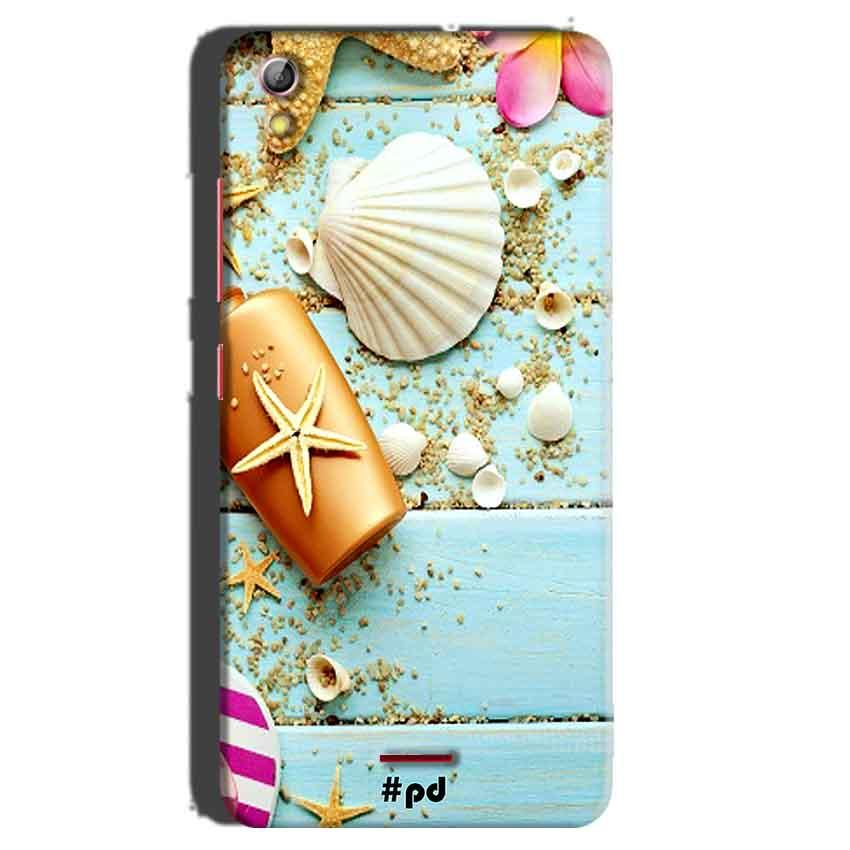 Gionee Pioneer P5 mini Mobile Covers Cases Pearl Star Fish - Lowest Price - Paybydaddy.com