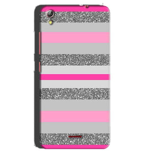 Gionee Pioneer P5 mini Mobile Covers Cases Pink colour pattern - Lowest Price - Paybydaddy.com