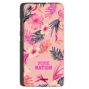 Gionee Pioneer P5 mini Mobile Covers Cases Pink nation - Lowest Price - Paybydaddy.com
