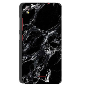 Gionee Pioneer P5 mini Mobile Covers Cases Pure Black Marble Texture - Lowest Price - Paybydaddy.com