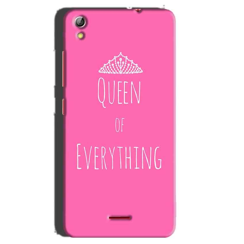 Gionee Pioneer P5 mini Mobile Covers Cases Queen Of Everything Pink White - Lowest Price - Paybydaddy.com